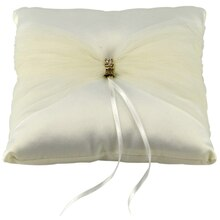 Celebrate It Occasions Tulle Ring Bearer Pillow