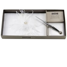 Celebrate It Occasions Feather Guest Book & Pen Set