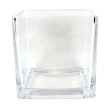 Ashland Square Glass Vase