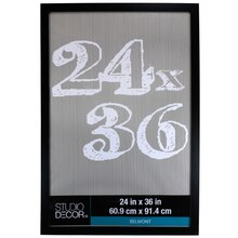 "Black Belmont Frame by Studio Décor®, 24"" X 36"", medium"