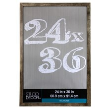 gray belmont frame by studio dcor 24 x 36
