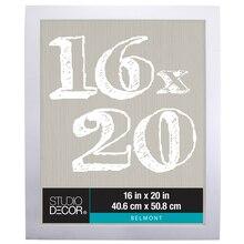 "Studio Décor Belmont Frame, White 16"" x20"""