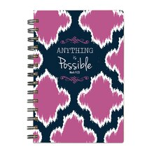 Scripture Art Maddie Journal, Anything is Possible