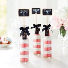 Soda Bottle Table Numbers