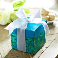 Artfully Marbled Gift Box