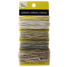 Bead Landing™ Cording, Jute & Cotton, medium