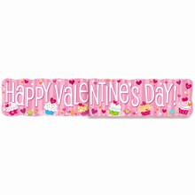 Cupcake Hearts Valentine Jointed Banner
