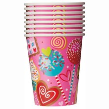 9 oz. Sweet Valentine Paper Cups, 8ct