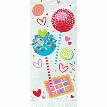 Sweet Valentine Cellophane Bags, 20ct