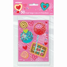 Sweet Valentine Treat Bags, 50ct