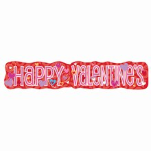 I Heart Valentine Jointed Banner