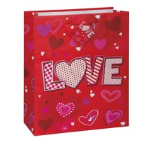 Large Love Hearts Valentine Gift Bag