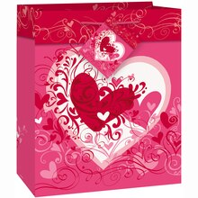 Small Tangled Hearts Valentine Gift Bag