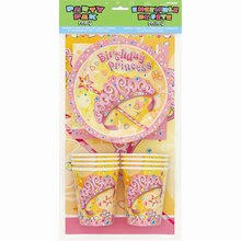 Pretty Princess Birthday Party Pack for 8