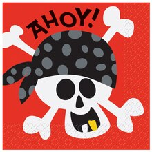 Pirate Beverage Napkins, 16ct