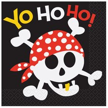 Pirate Luncheon Napkins, 16ct