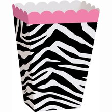 Zebra Print Favor Boxes, 8ct