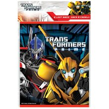 Transformers Party Favor Bags, 8ct