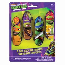 Teenage Mutant Ninja Turtles Skateboard Party Favors, 4ct