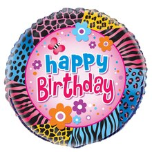 Foil Wild Birthday Balloon, 18""