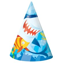 Fin Friends Party Hats, 8ct