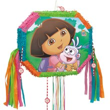 Dora the Explorer Piñata, Pull String