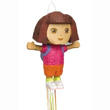 Dora the Explorer Piñata, Shaped Pull String