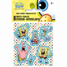 SpongeBob SquarePants Sticker Sheets, 8ct