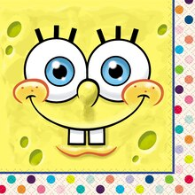 SpongeBob SquarePants Beverage Napkins, 16ct