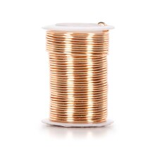 Buy the 24 gauge copper wire by ashland at michaels darice copper wire 16 gauge gold keyboard keysfo Images