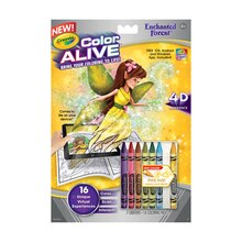 Crayola Color Alive Enchanted Forest