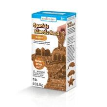 Creatology Sparkle Kinetic Sand, Bronze
