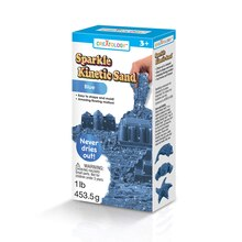 Creatology Sparkle Kinetic Sand, Blue