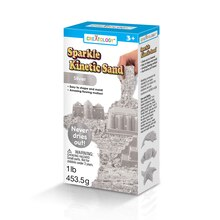 Creatology Sparkle Kinetic Sand, Silver