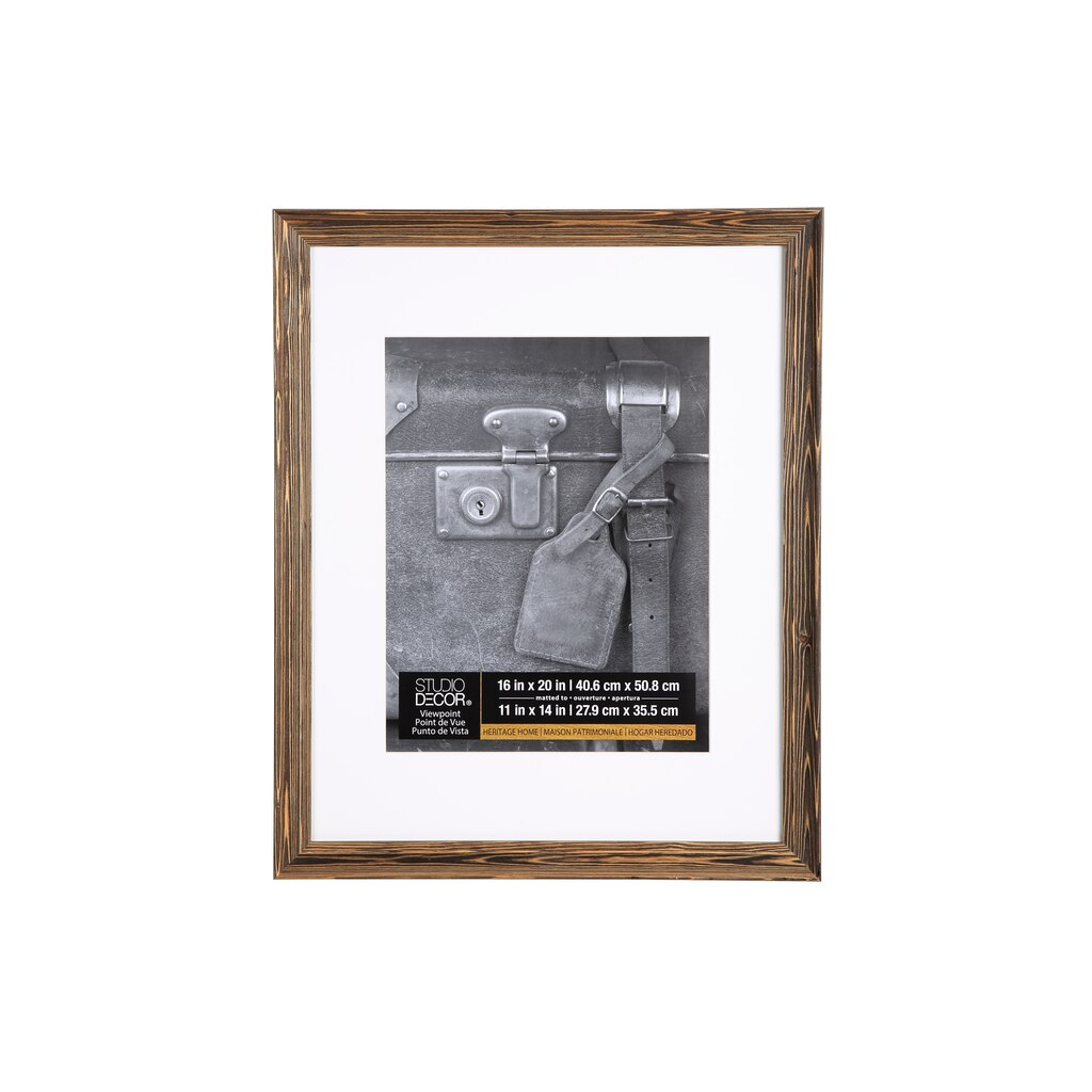 Studio d cor viewpoint heritage home wood grain frame for Michaels home decor
