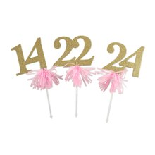 Celebrate It Occasions Tassel Table Numbers, 13 to 24
