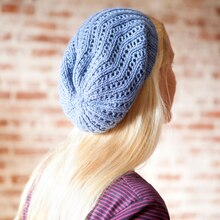 all day beret back view