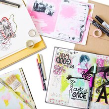Art Journaling: Sketching on the Go