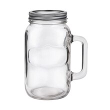 Ashland Mason Jar Mug With Lid