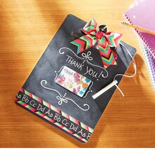 Teacher Appreciation: Clipboard with Gift Card