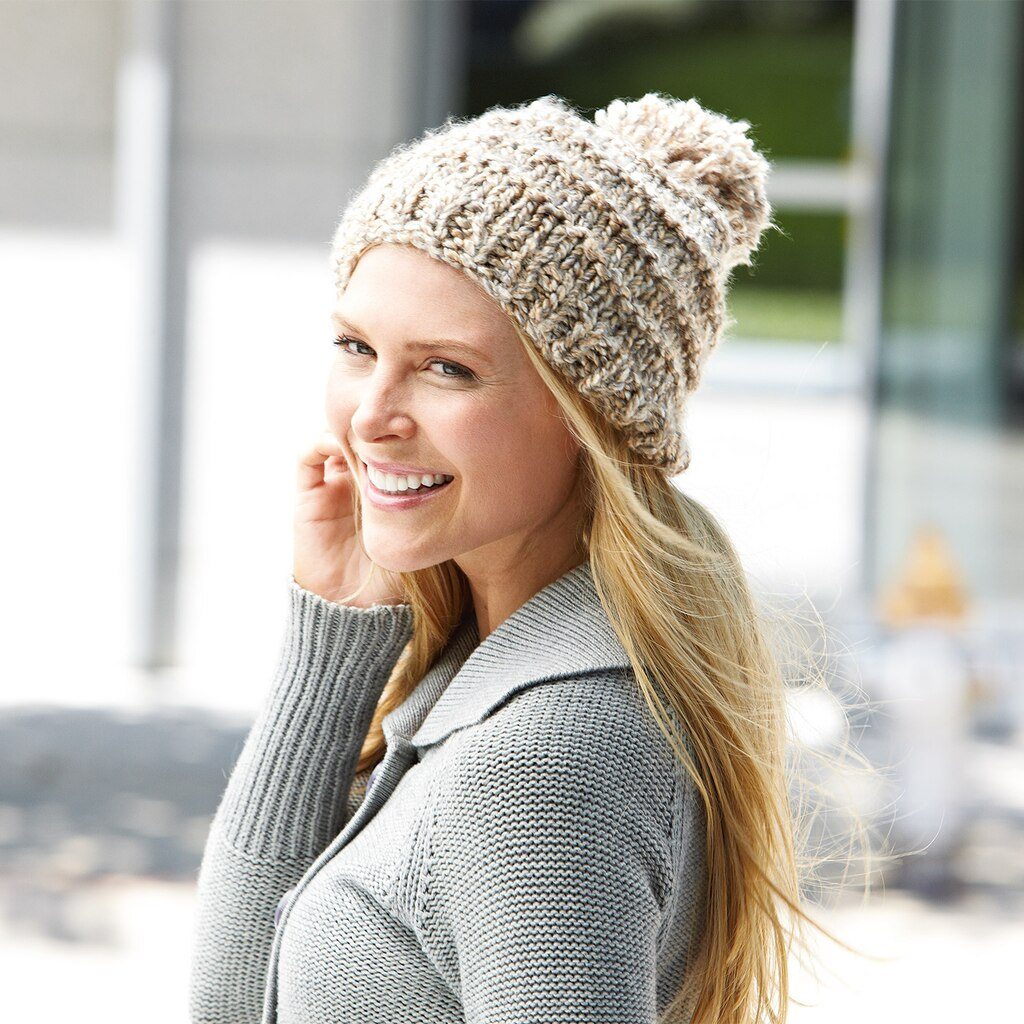 Loops threads country loom back to basics hat knit dt1010fo