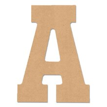 ArtMinds Collegiate Wood Letter A, 10""