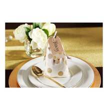 Dinner Party: Gold Dot Favor Bags