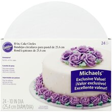 "Wilton 10"" Cake Circles, Value Pack"