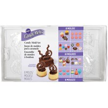 Wilton Candy Mold Set, Party Pack