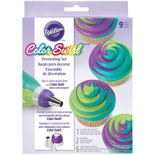Wilton  Color Swirl? Decorating Set
