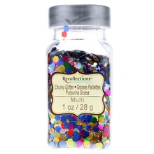 Recollections Signature Super Chunky Glitter, Multi