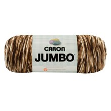 Caron Jumbo Yarn, Chocolate Variegated