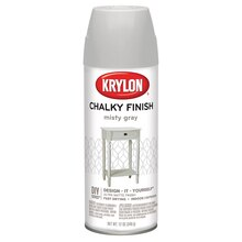 Krylon Chalky Finish Paint, Misty Gray