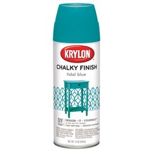 Krylon Chalky Finish Paint, Tidal Blue